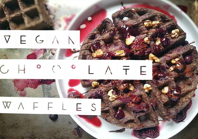 Harsha's Chocolate Waffle Recipe by harsha Enterprises