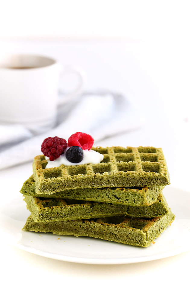 Gluten Free Matcha Waffle At Harsha by harsha Enterprises