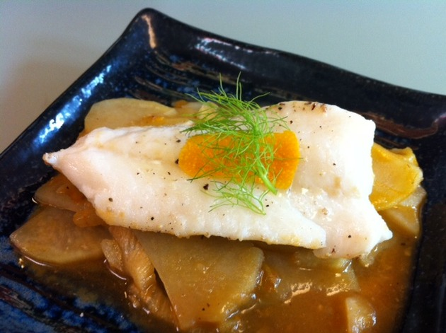 Cod with Fennel and Potatoes by belinda