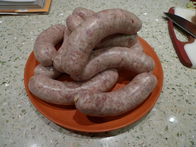 Hot Italian Sausage by horsebrand