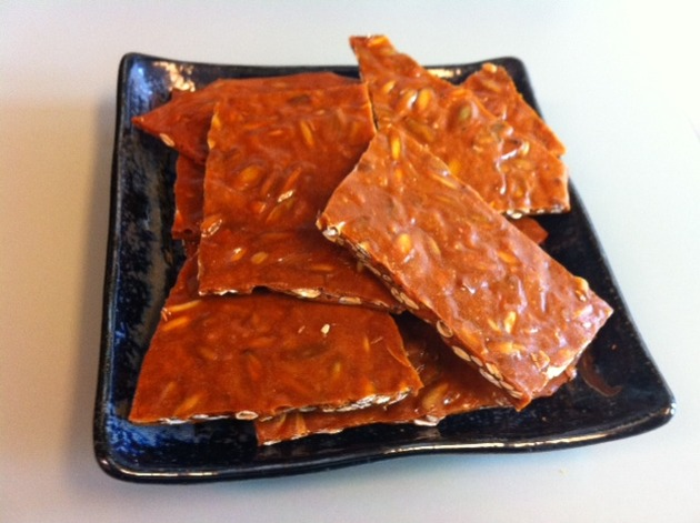 Pumpkin Brittle by belinda