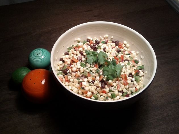 Fresh Corn and Black Bean Salad by hulagun