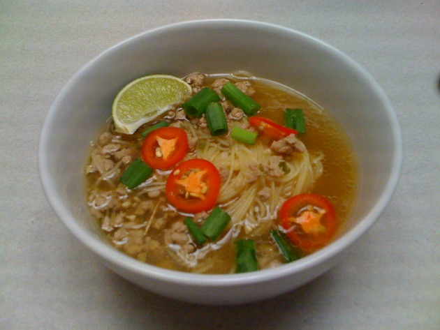Thai Pork Noodle Soup by car2ngrl