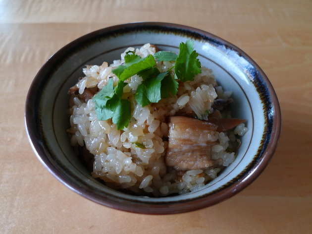 oily rice (you fan) by Amah