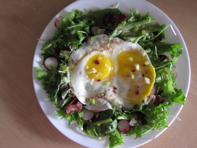 breakfast salad for two by joanie
