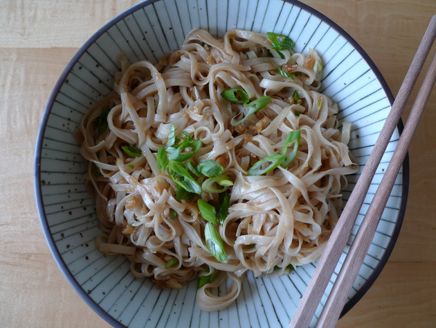 ginger noodles by joanie