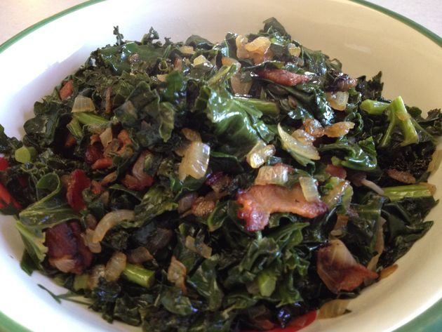 Kale with Bacon and Onion by car2ngrl