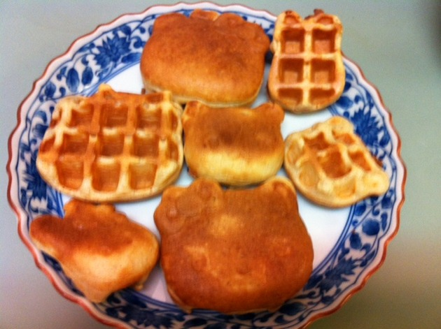 Tartine Leavened Waffles by belinda