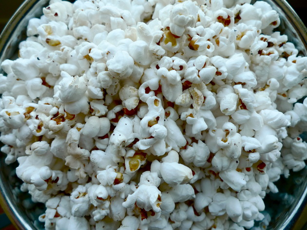 bacon grease popcorn by joanie