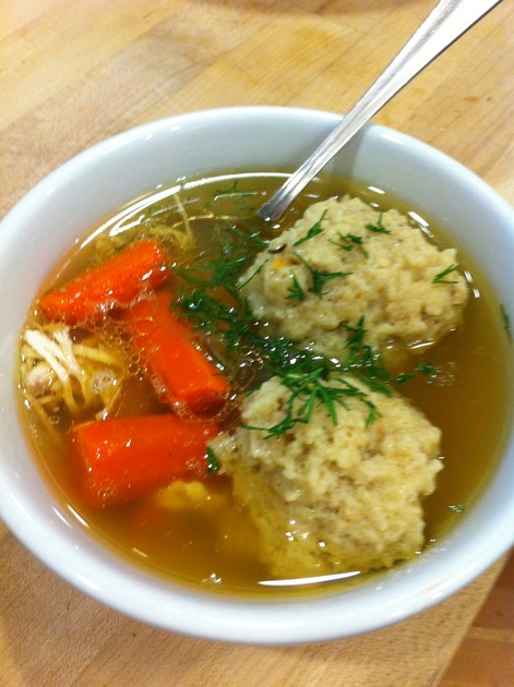 Matzo Ball Soup by Lyn