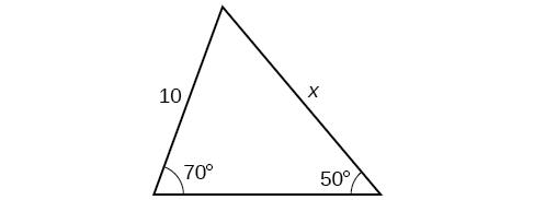 algebra and trigonometry non right triangles law of sines. Black Bedroom Furniture Sets. Home Design Ideas