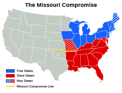 an essay on the missouri compromise Thematic essay, dbq essay) missouri compromise of 1820 source: united states history and government part a specific rubric.
