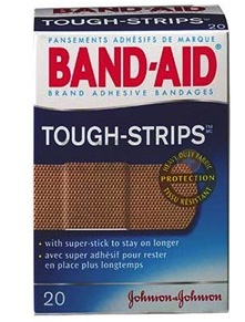 Band-Aid Fabric Tough Strips