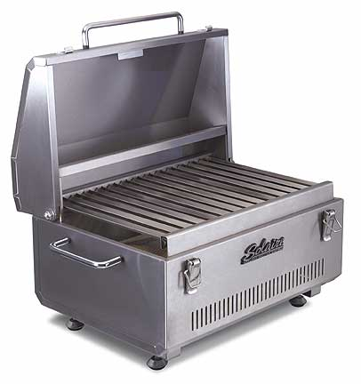 solaire anywhere portable infrared grill cool tools. Black Bedroom Furniture Sets. Home Design Ideas