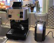 Barista Espresso Machine and Grinder