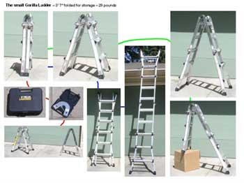 Compact Multi Purpose Ladder