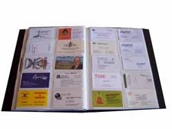 Poly Business Card Book Cool Tools