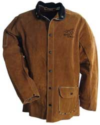Black Stallion Cowhide Welding Jacket