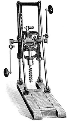 Millers Falls Boring Machine Cool Tools