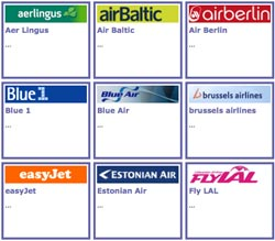 airline flights europe