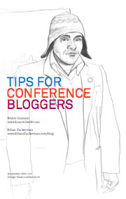 Tips for Conference Bloggers