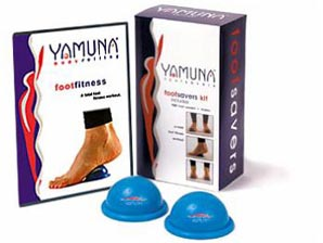 Yamuna Body Rolling Footsavers