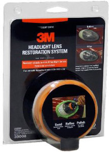 3M Headlight Polishing Kit