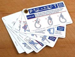 Knot Tying Cards