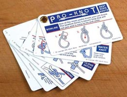 Smart image inside printable knot tying cards