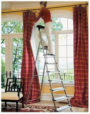 Deep-Step Safety Ladder
