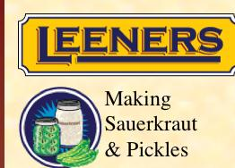 Leeners Pickling Kit