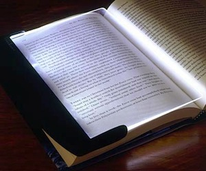 LightWedge Book Light