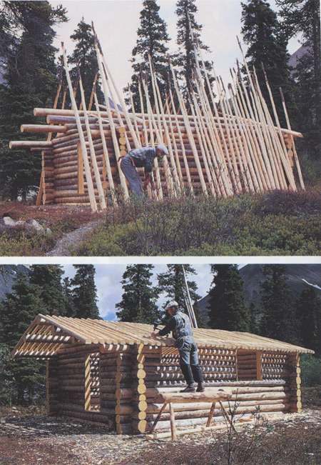 Homesteading alone cool tools for Building a cabin in alaska