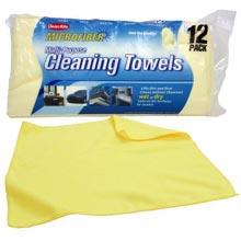 Microfiber Cleaning Towels in Bulk