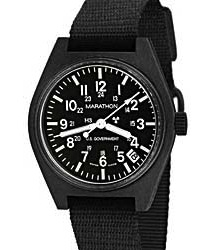 Tritium-lit U.S. Military Wrist Watch