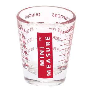 Mini Measure Shot Glass