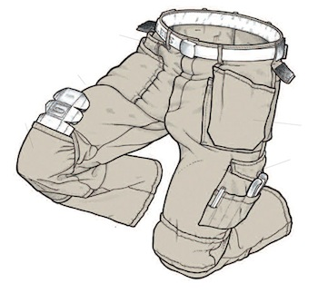 Skillers Super Canvas Work Pants Cool Tools