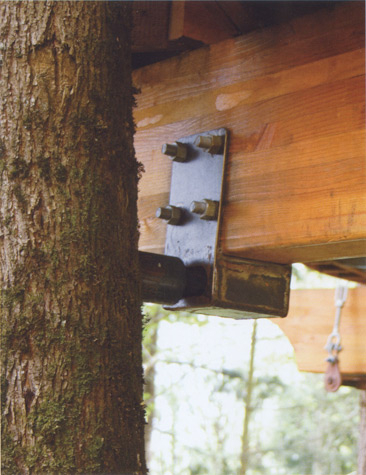Tree houses cool tools House brackets