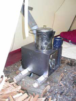 Wall Tent Stoves