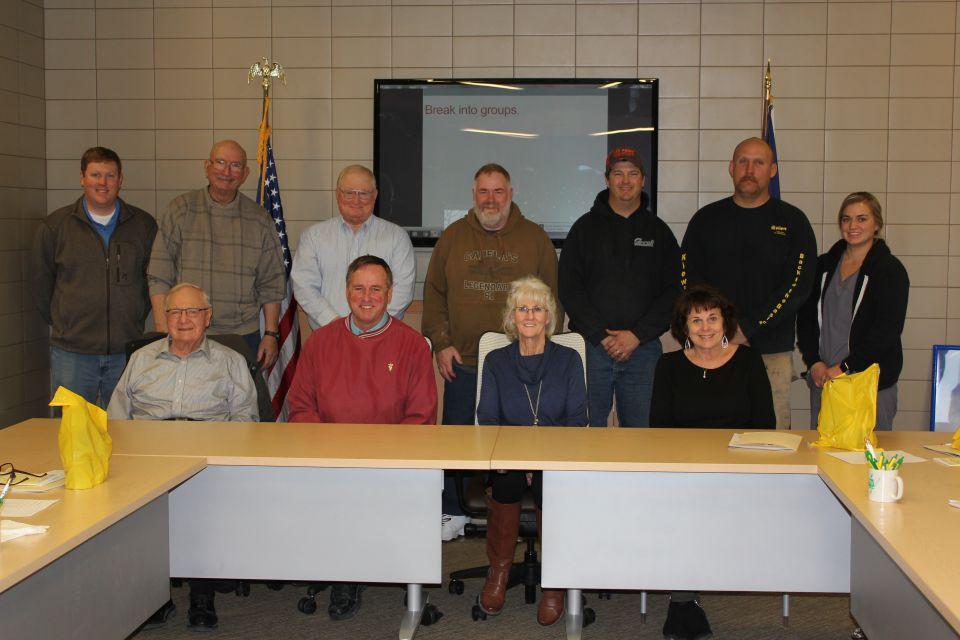 The 2018 Nomination Committee at HCREC Headquarters