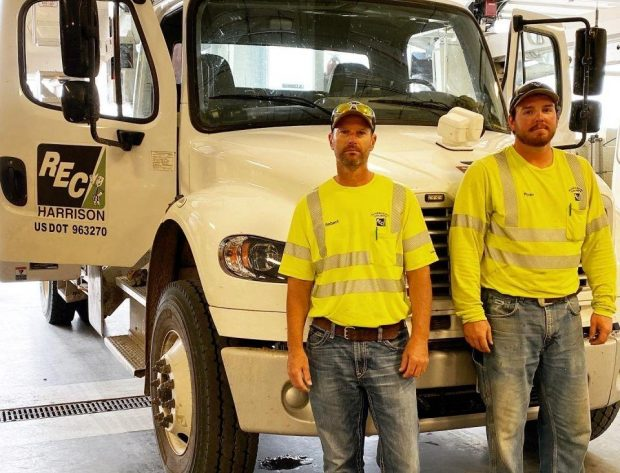 Cooperation Among Cooperatives - HCREC Sends Mutual Aid to help with the Iowa Derecho