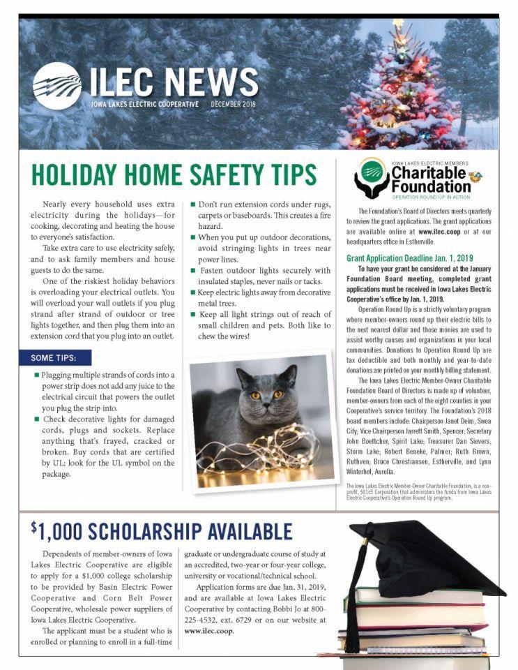 December Monthly Newsletter