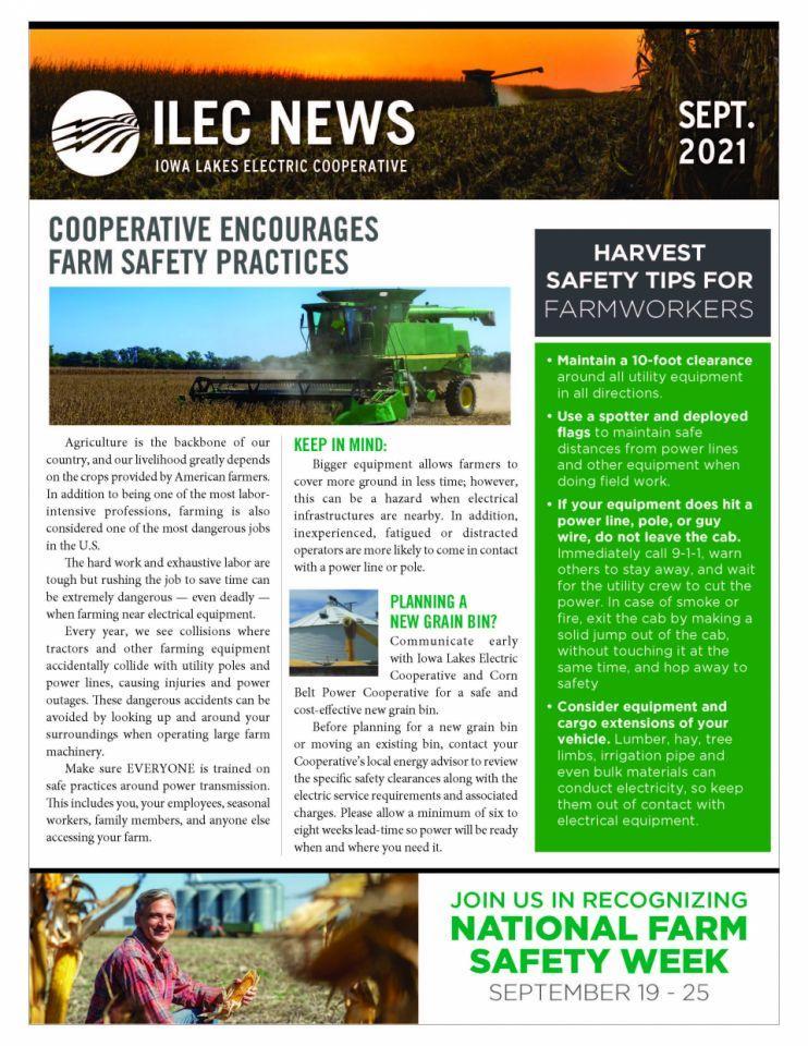 September Monthly Newsletter