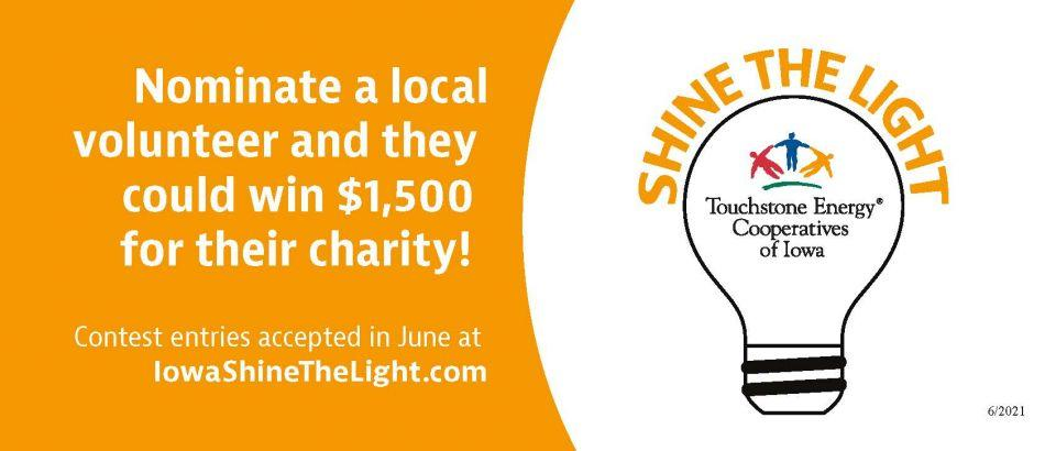 Nominate a local volunteer and they could win $1,500 for their charity.