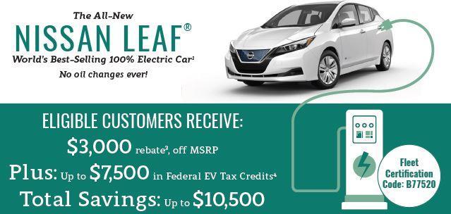 Nissan Leaf Rebate