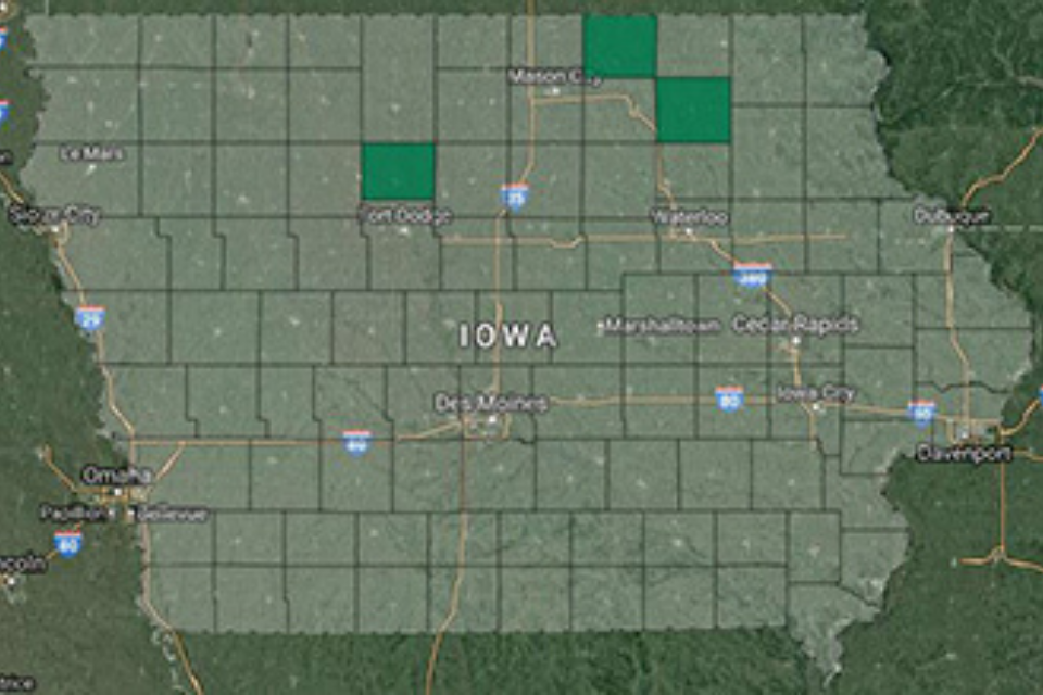 Iowa Outage Map