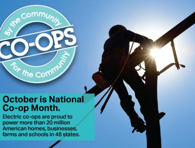 Co-op Month logo