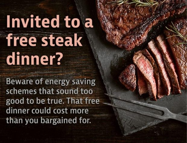 There's No Such Thing As A Free Dinner