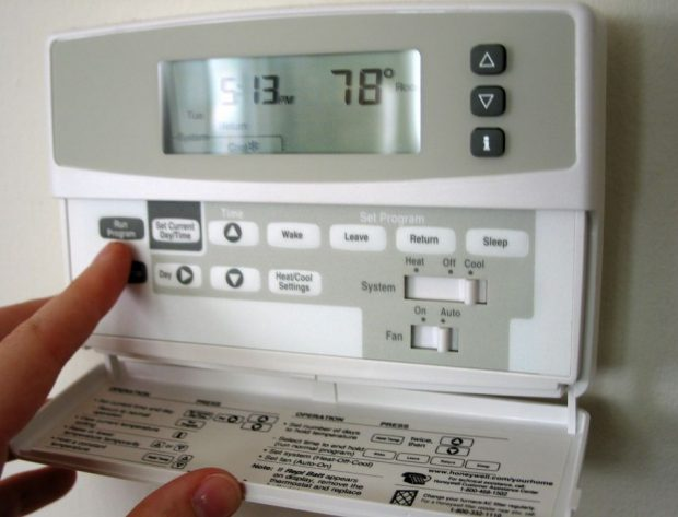 Picture of thermostat