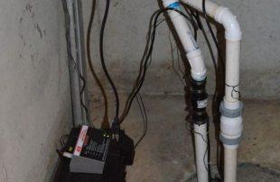 photo of a sump pump